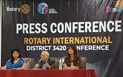 "PRESS CONFERENCE ""ROTARY D 3420 DISTRICT CONFERENCE 2018"""