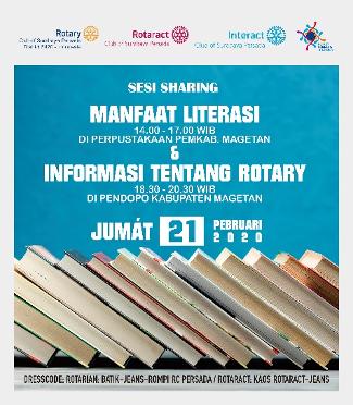 Sesi Sharing Manfaat Literasi