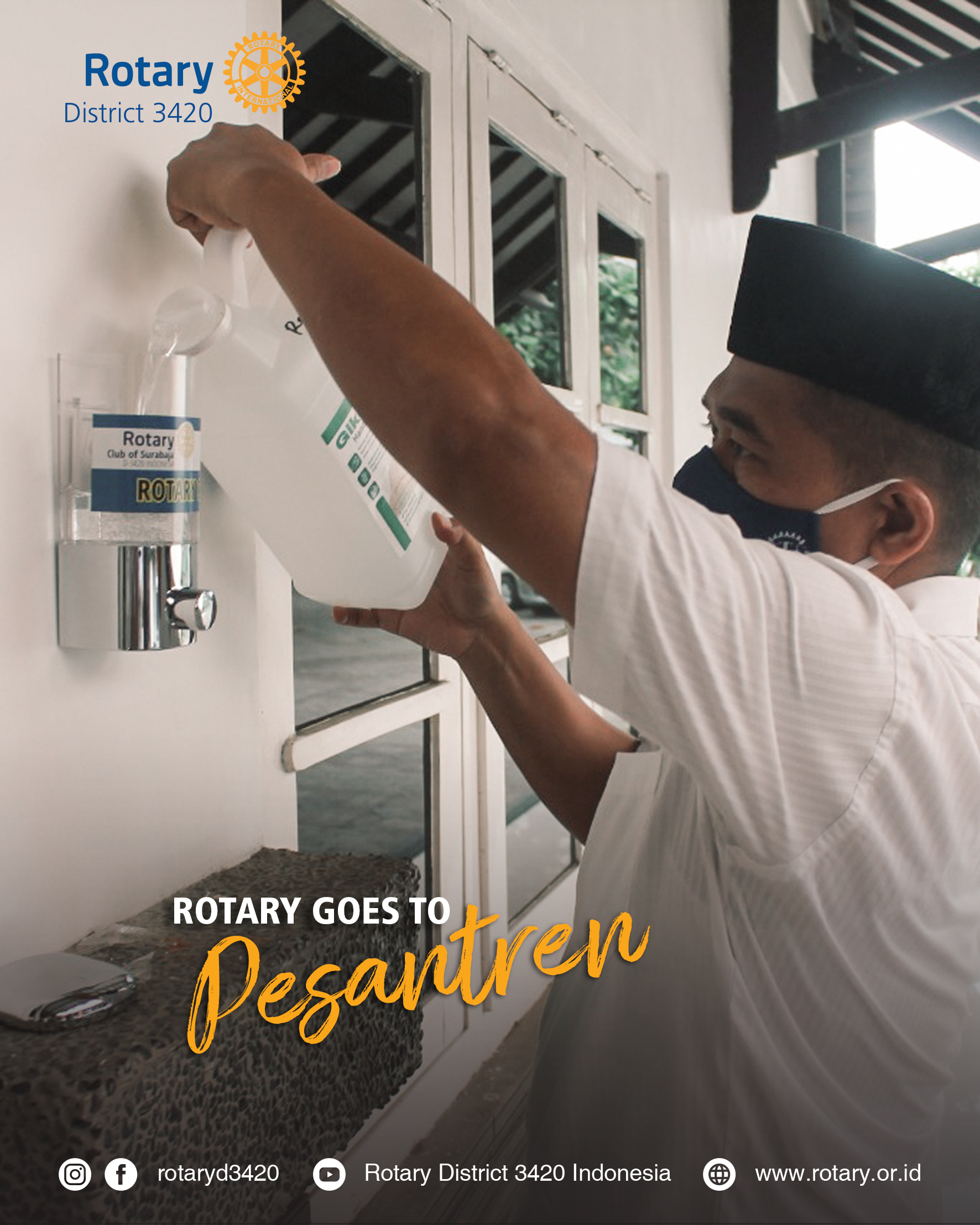 Rotary Goes to Pesantren Part 2