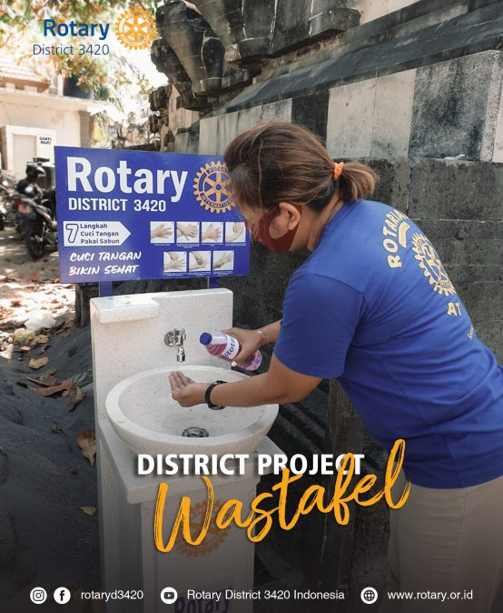 District Wastafel Project by Rotary Club of Bali Kuta