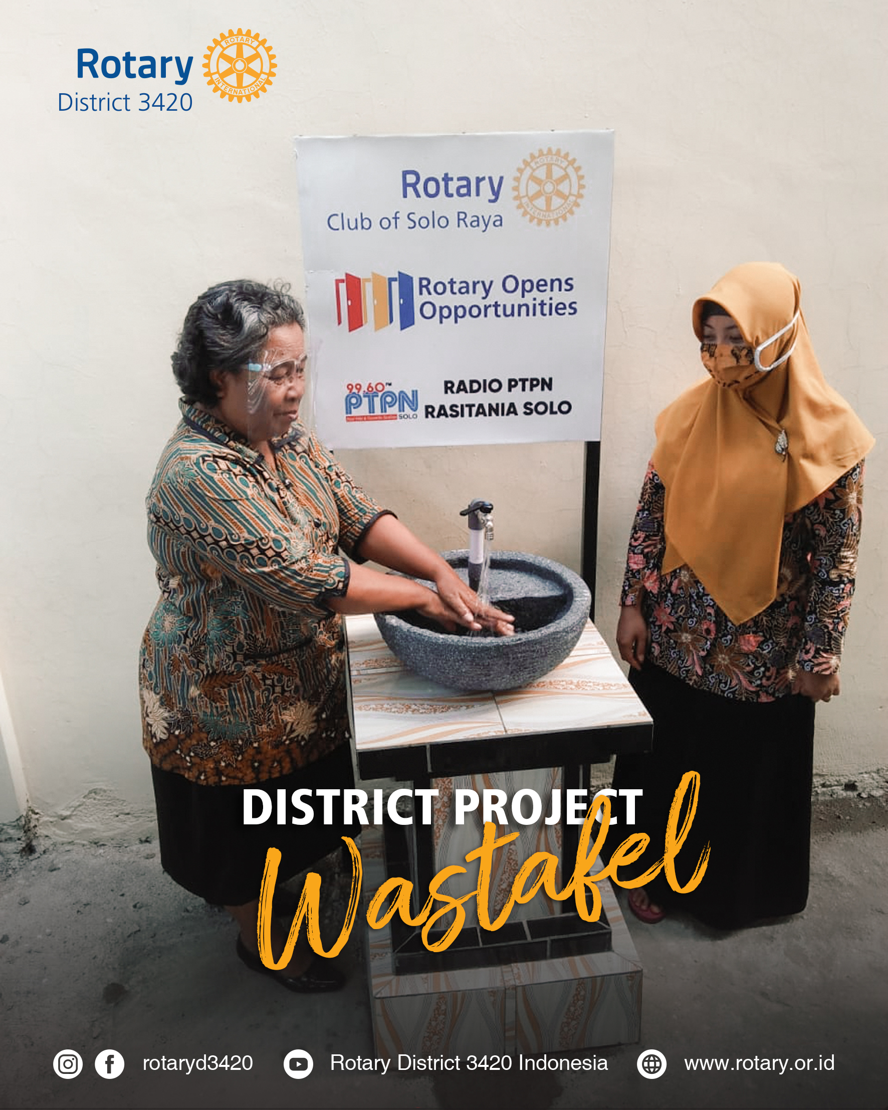 District Project Wastafel Solo Area