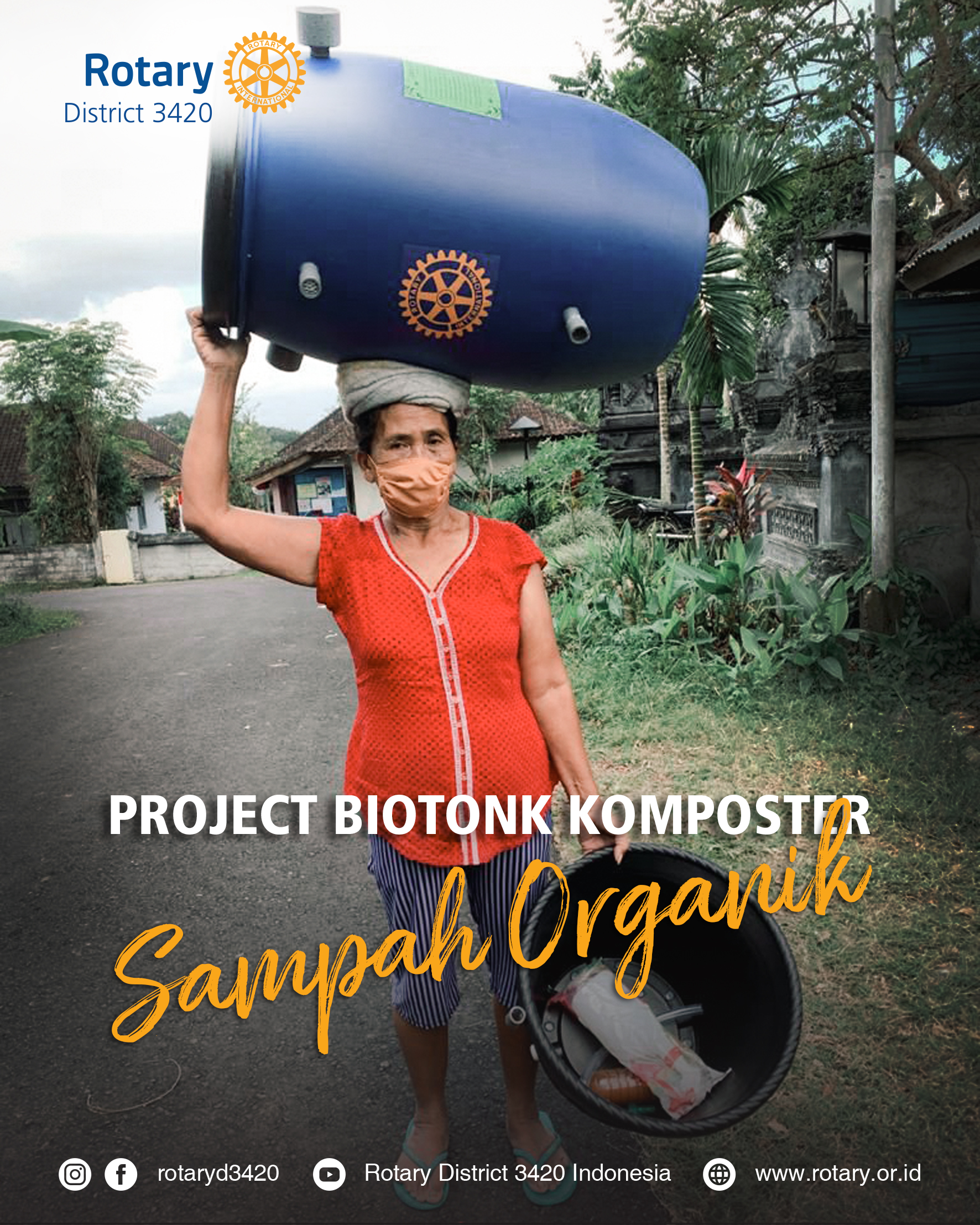 Biotonk Komposter Organik (District Grant# 2091015)