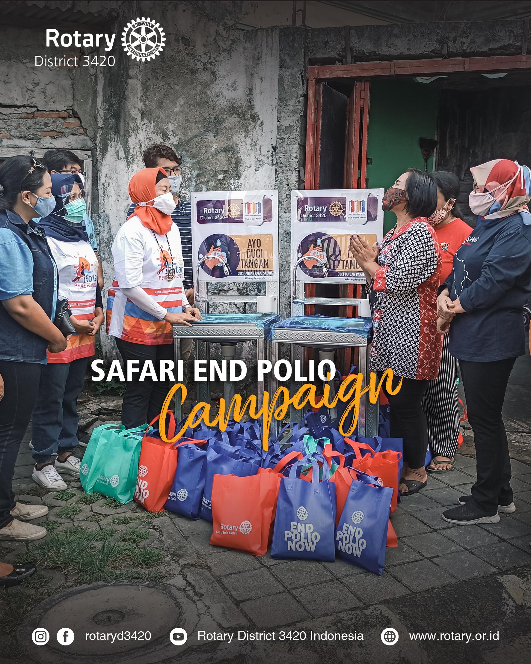 Safari End Polio Campaign