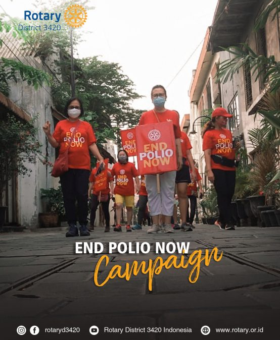Fellowship Sport Day End Polio Now Campaign