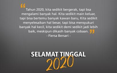 Selamat Tinggal 2020