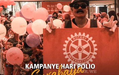 Kampanye Hari Polio Surabaya