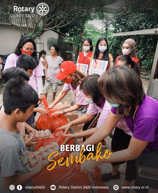 Berbagi Sembako
