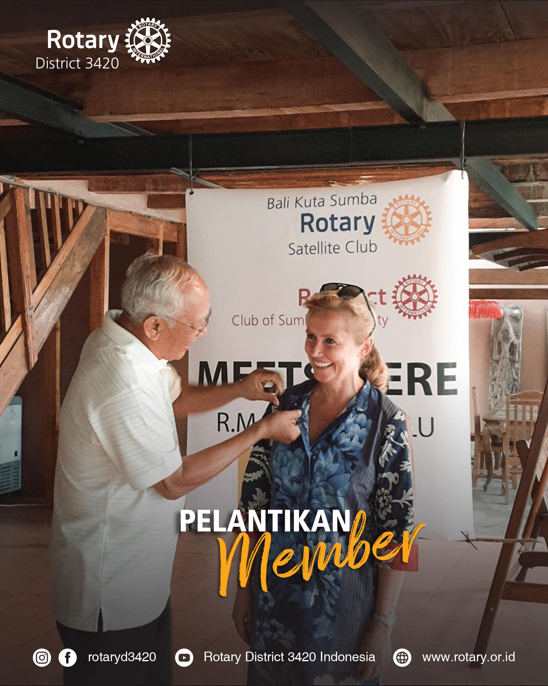 Pelantikan Rotary Satellite Club of Bali Kuta Sumba