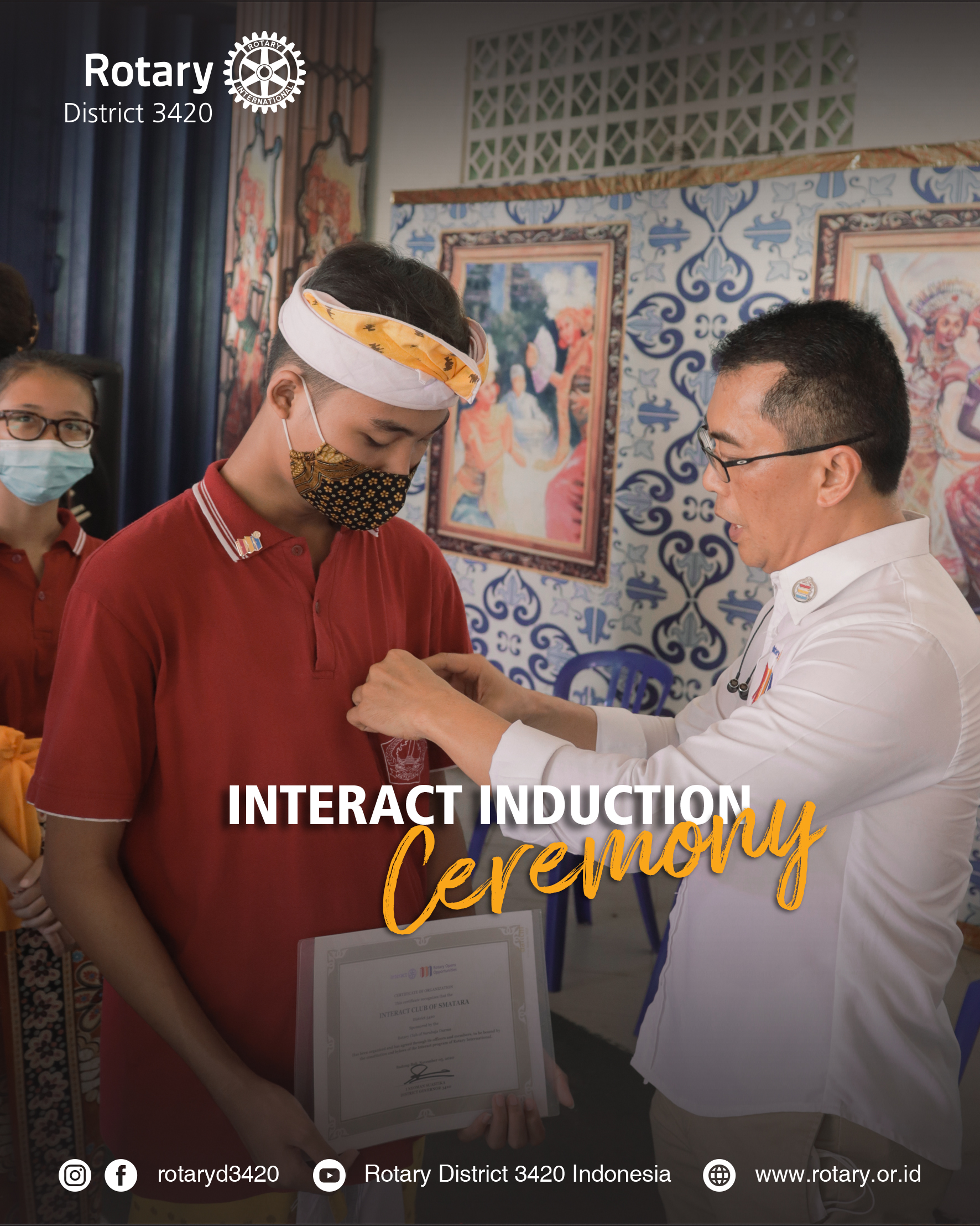 Interact Induction Ceremony