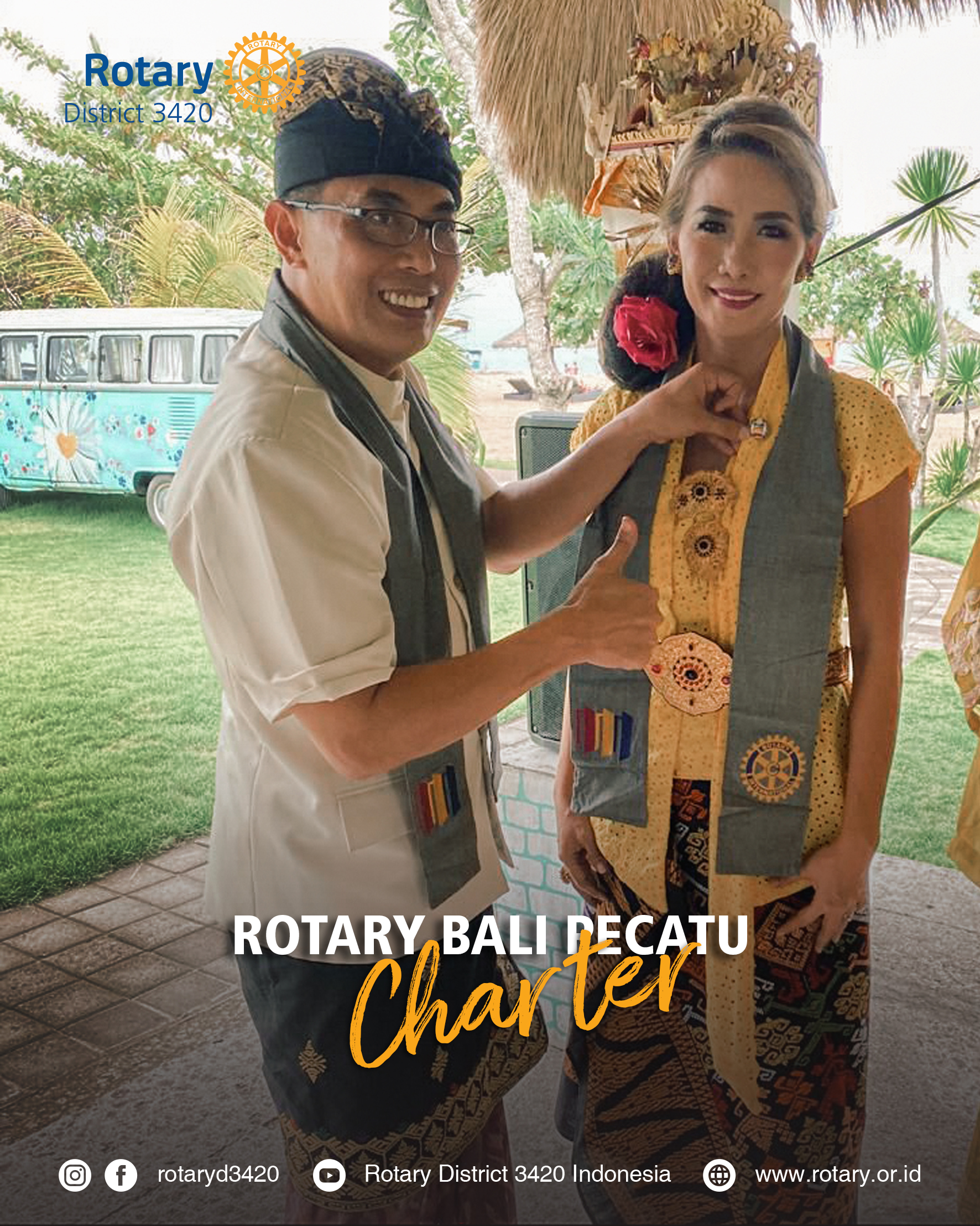 Charter Presentation Rotary Club of Bali Pecatu