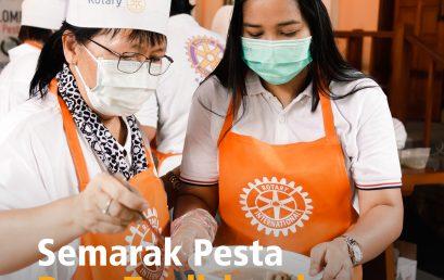 Semarak Pesta Rasa Tradisional: Lomba Memasak dari Area 5,6,7 D3420 untuk Anniversary Rotary Club ke-116 Tahun