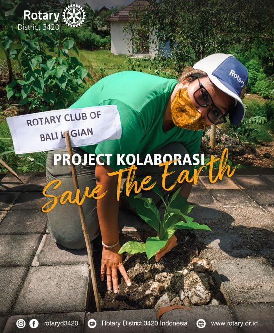 Project Kolaborasi Save The Earth