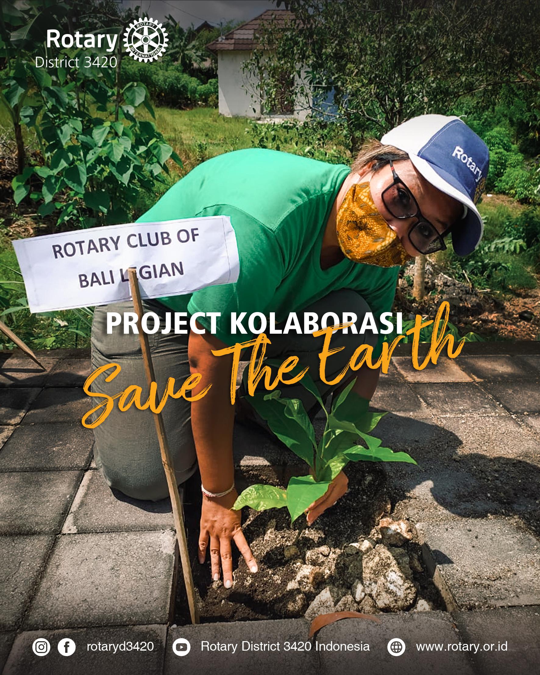 Project Kolaborasi Save The Earth