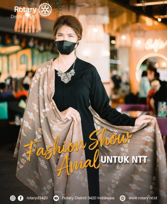 Fashion Show Amal, bantu penenun korban banjir NTT