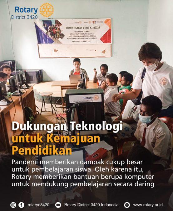 Dukungan Teknologi untuk Kemajuan Pendidikan