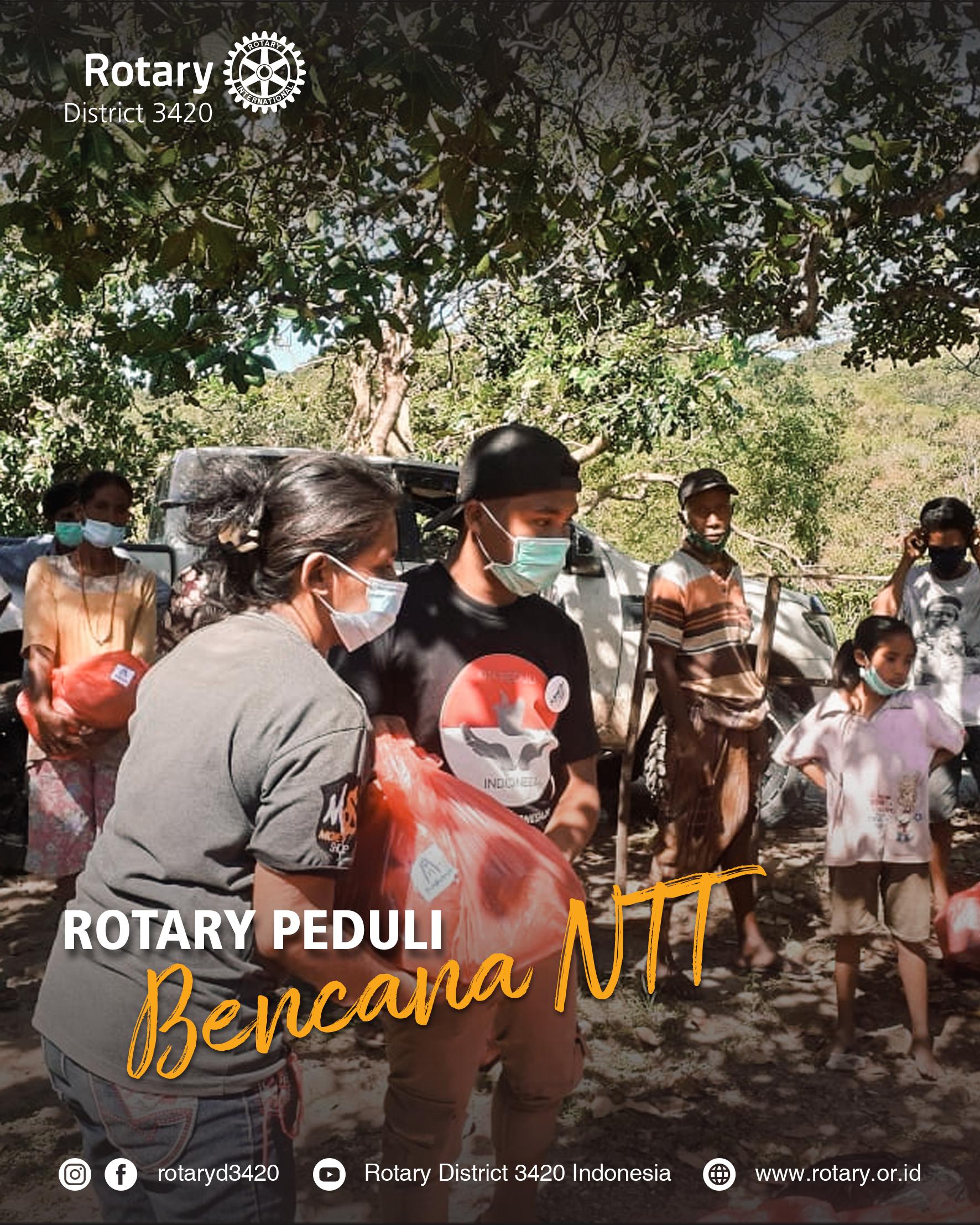 Rotary Peduli Bencana NTT