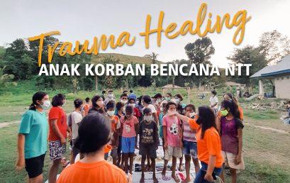Trauma Healing untuk Anak-Anak Korban Bencana NTT