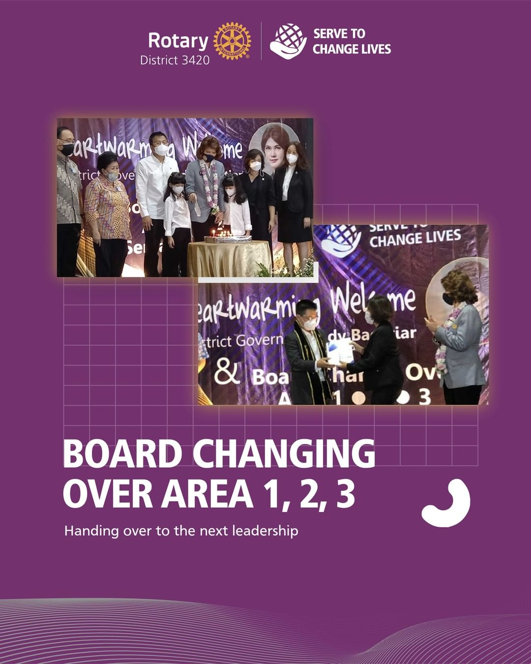 Board Change Over Area 1,2,3