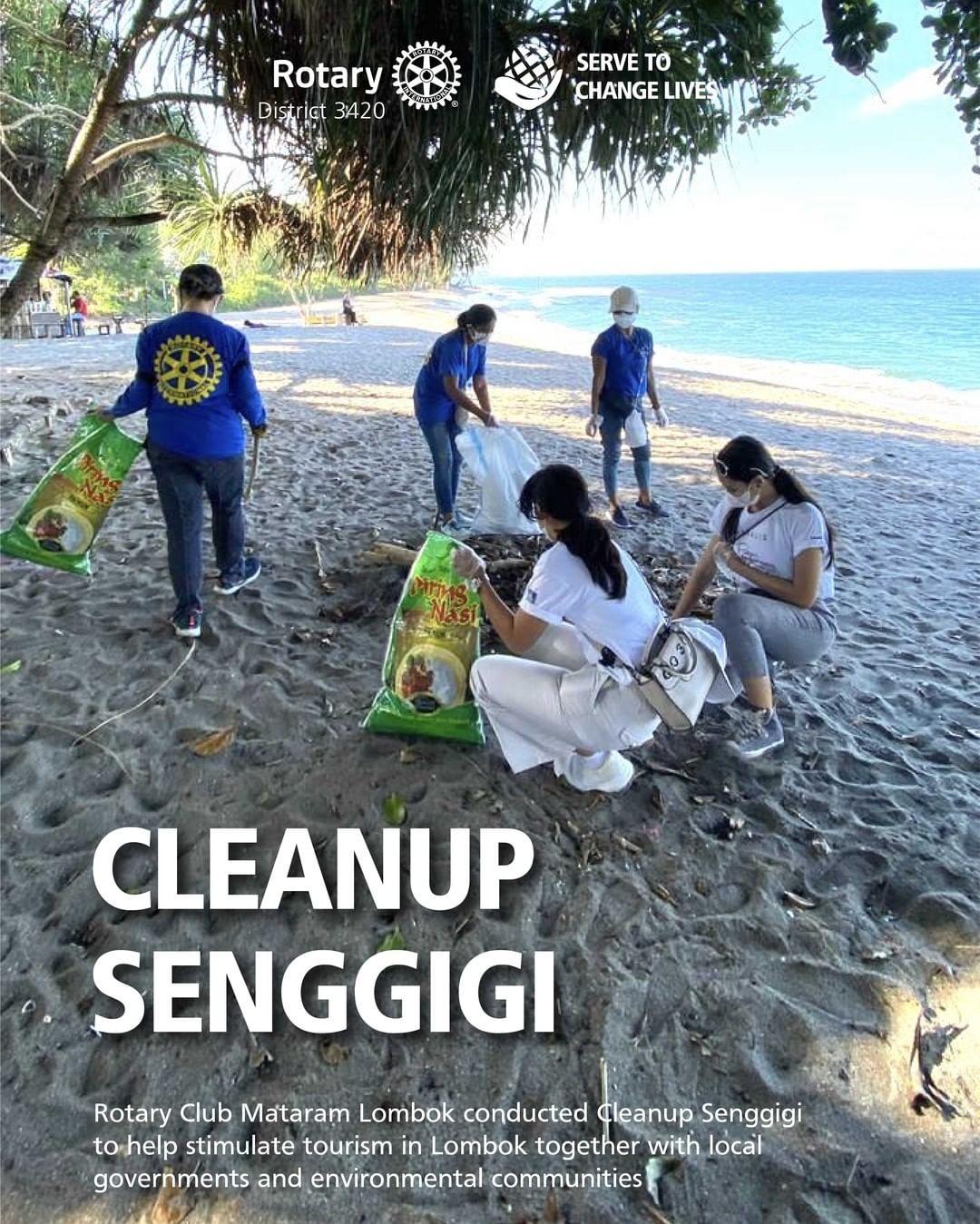 Cleanup Senggigi