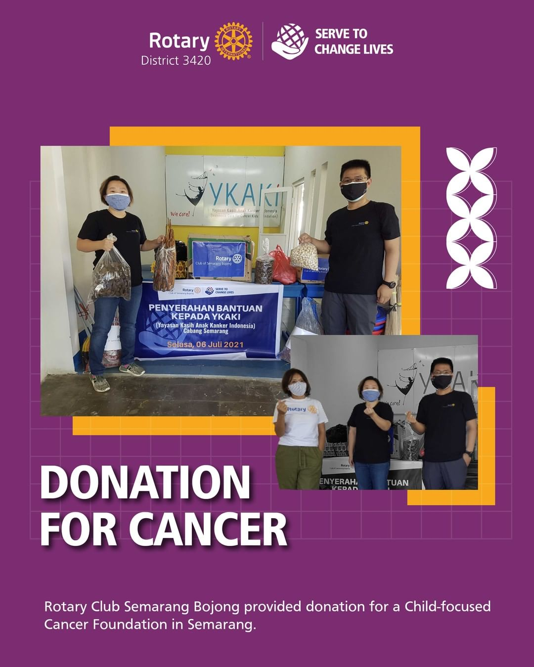 Donation for Cancer