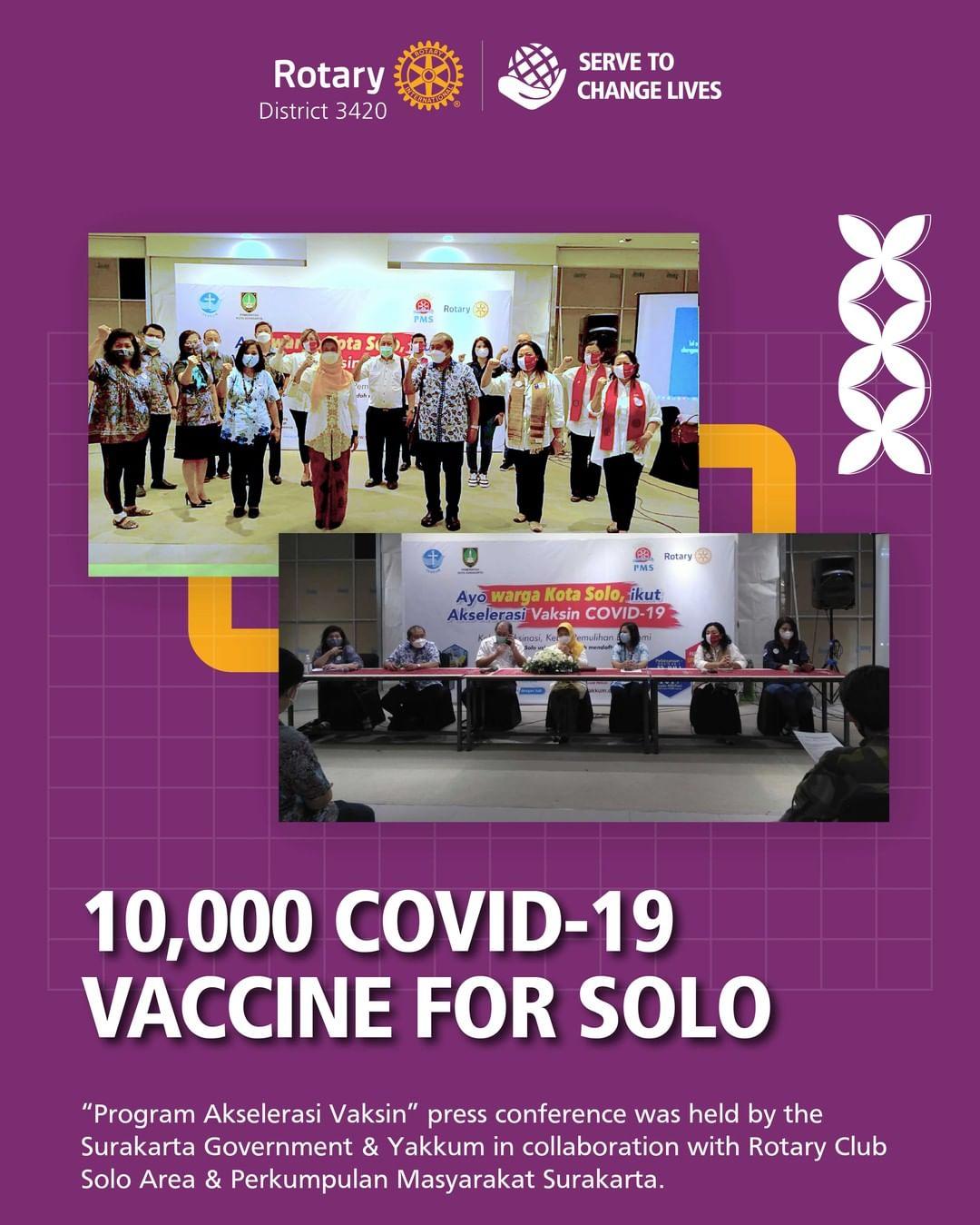10.000 Covid-19 Vaccine for Solo
