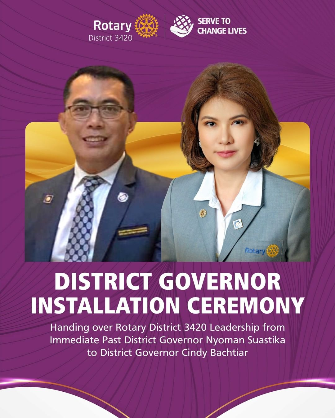 District Governor Installation Ceremony