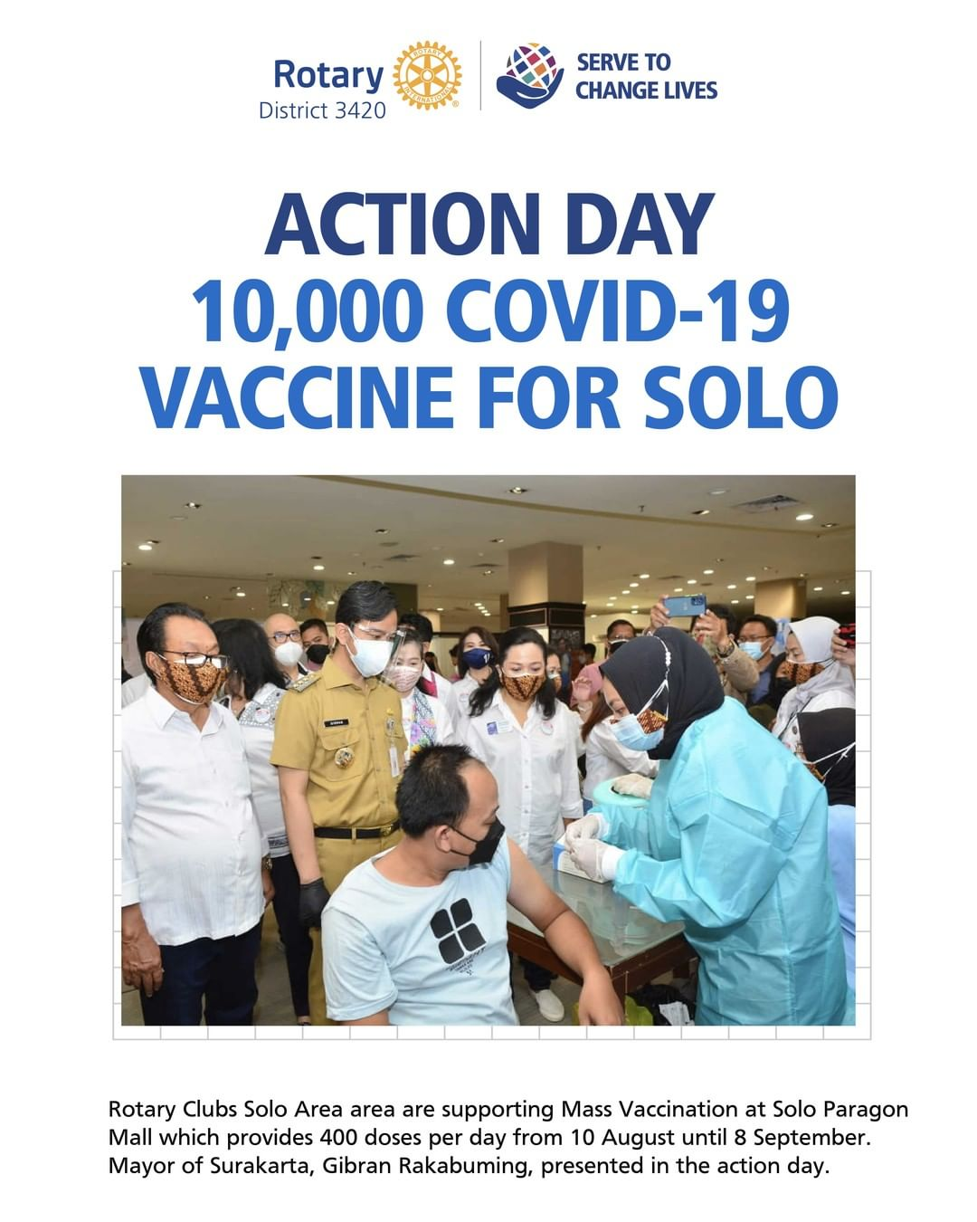 Action Day 10.000 Covid-19 Vaccine for Solo