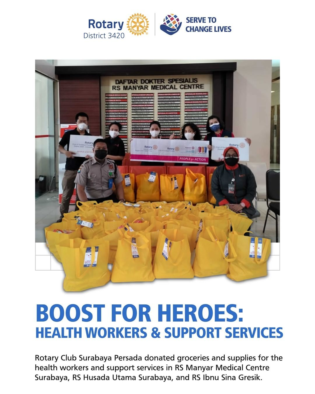 Boost for Heroes : Health Workers & Support Services