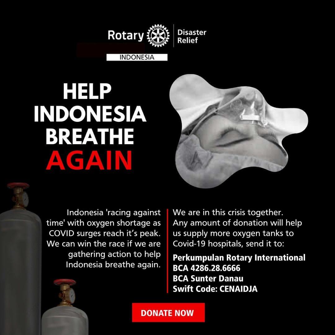 Help Indonesia Breathe Again