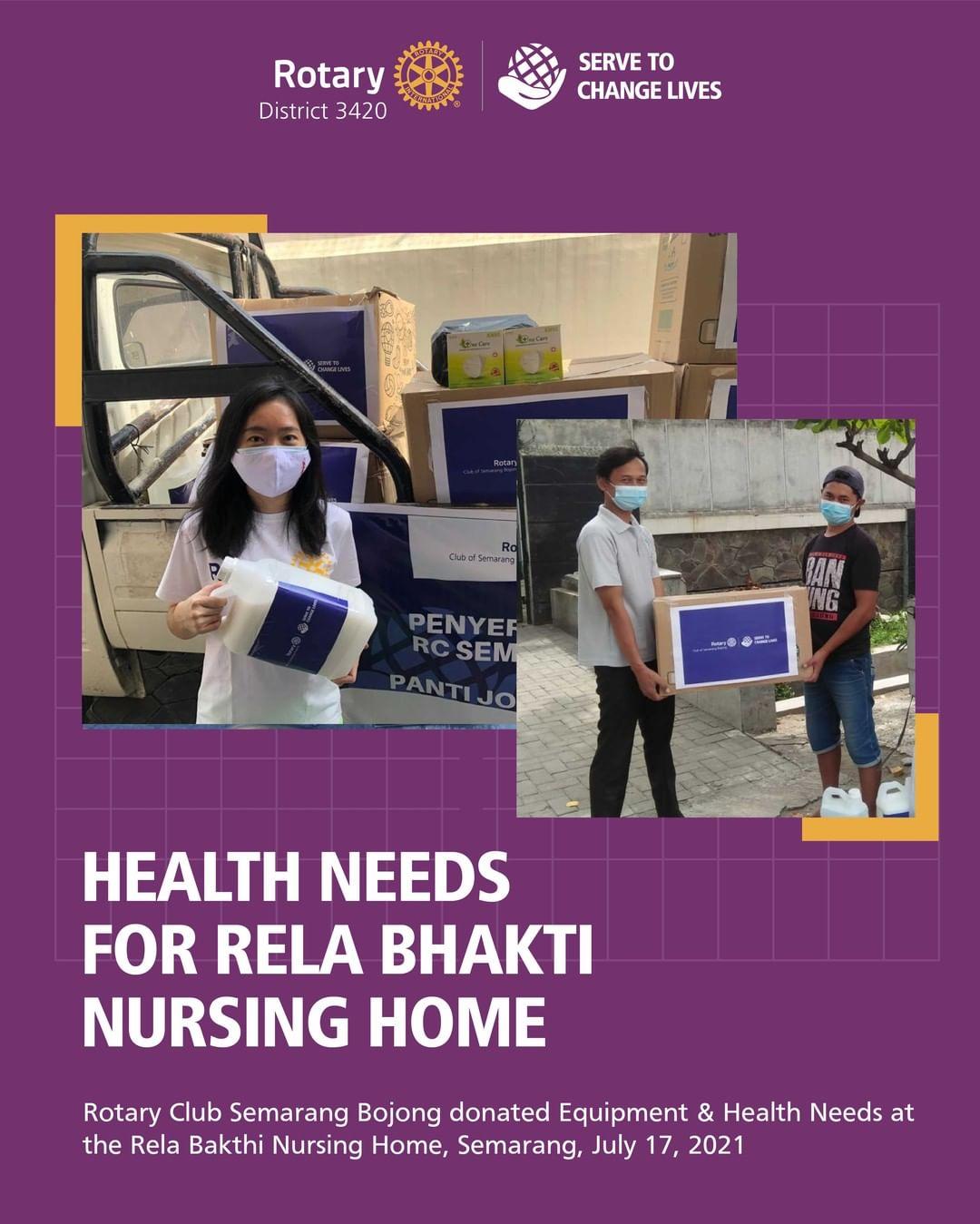Health Needs for Rela Bhakti Nursing Home