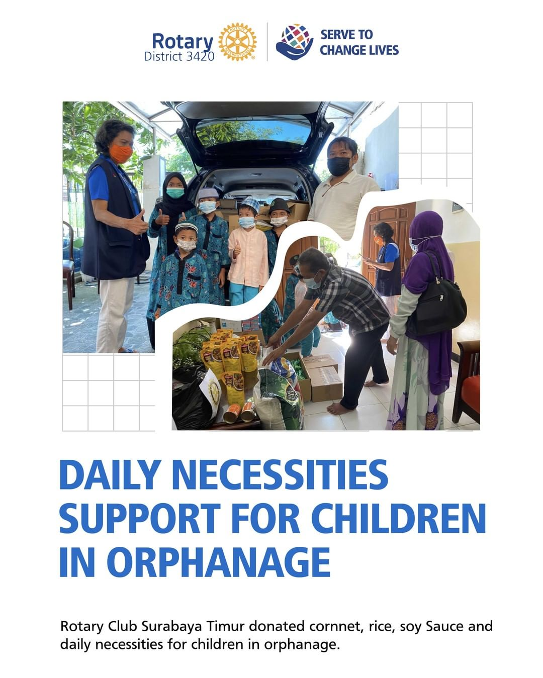Daily Necessities Support for Children in Orphanage