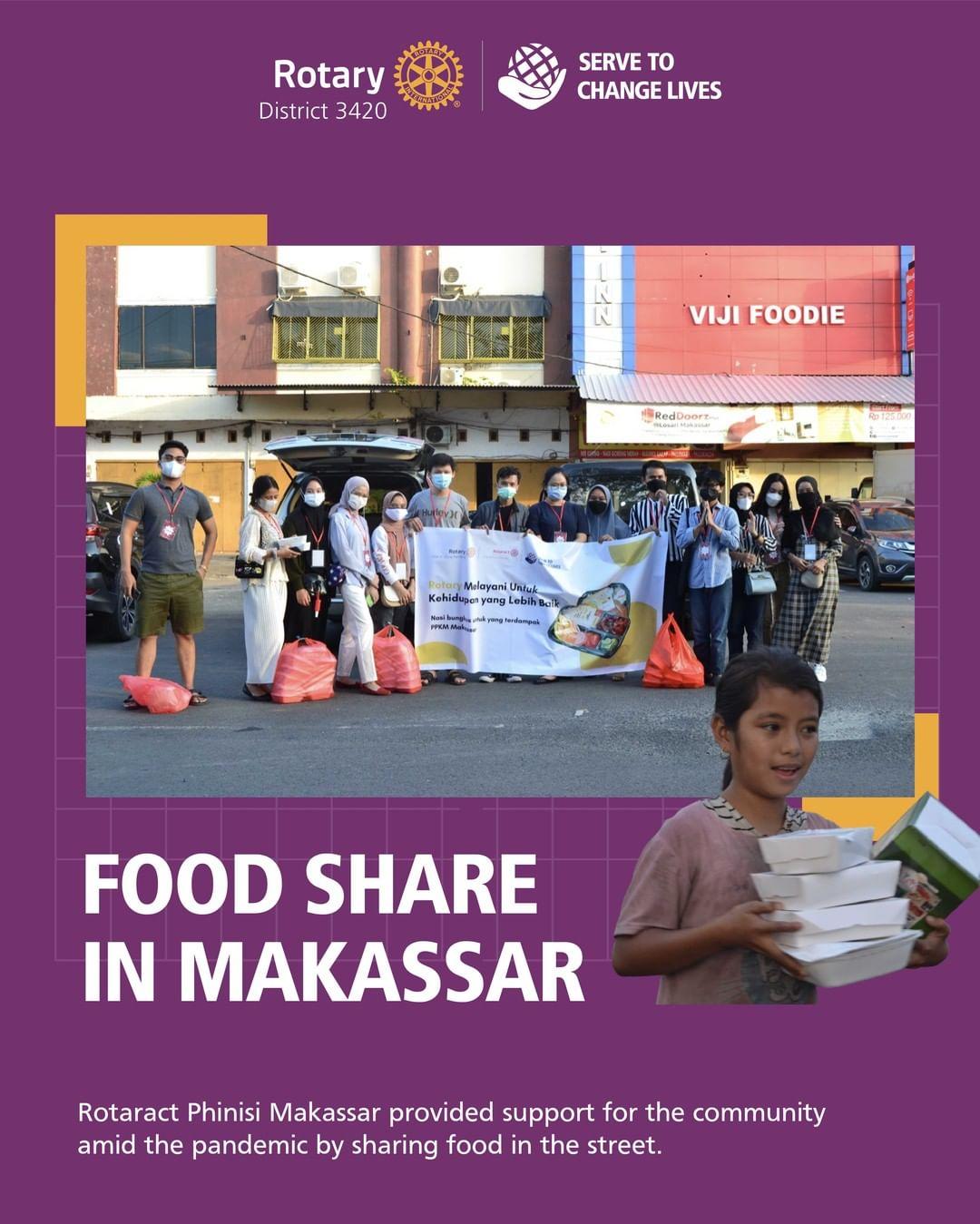 Food Share in Makassar