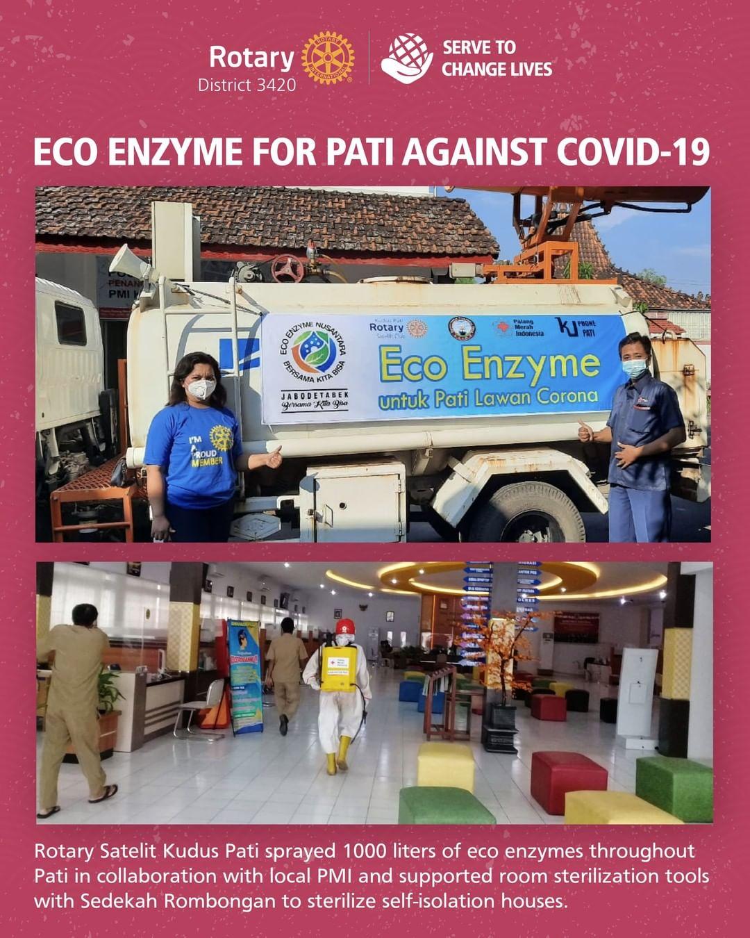 Manfaat alam untuk kehidupan: Eco Enzyme untuk Pati melawan Covid-19
