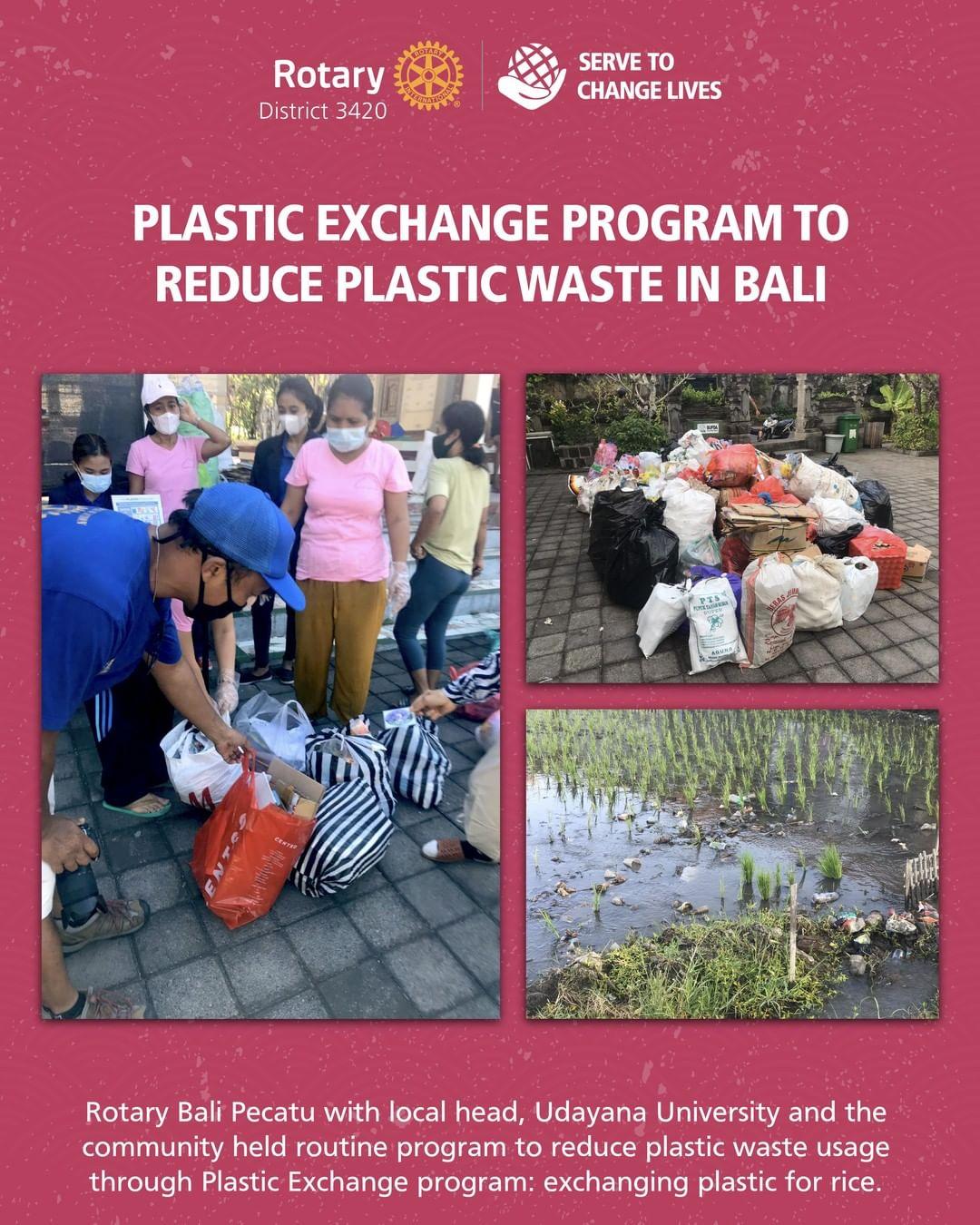 Plastic Exchange Program to Reduce Plastic Waste in Bali