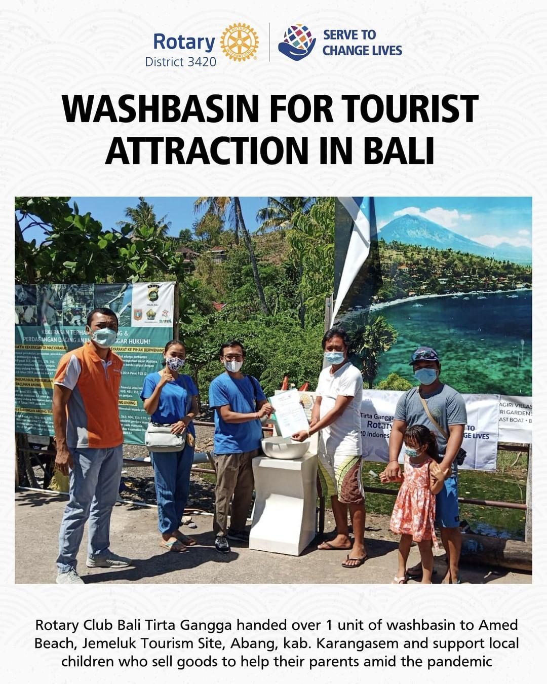 Washbasin for Tourist Attraction in Bali