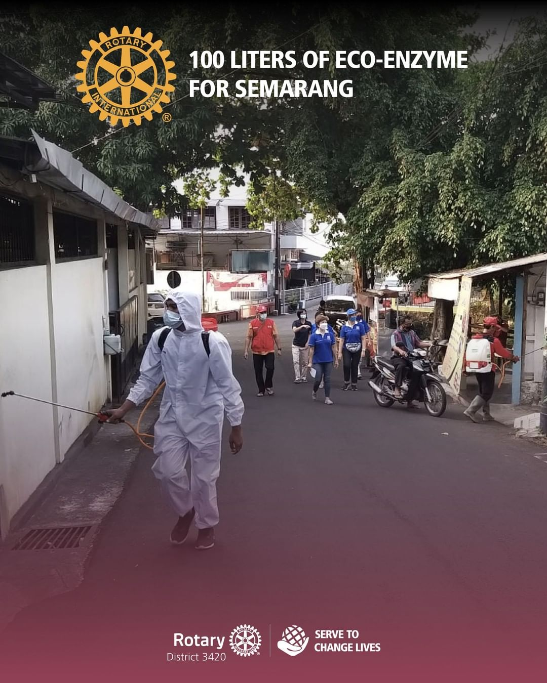 100 Liters of Eco-Enzyme for Semarang