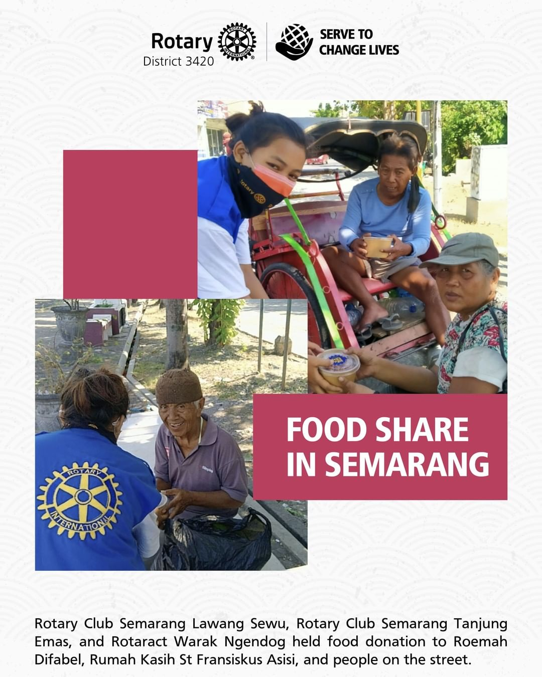 Food Share in Semarang