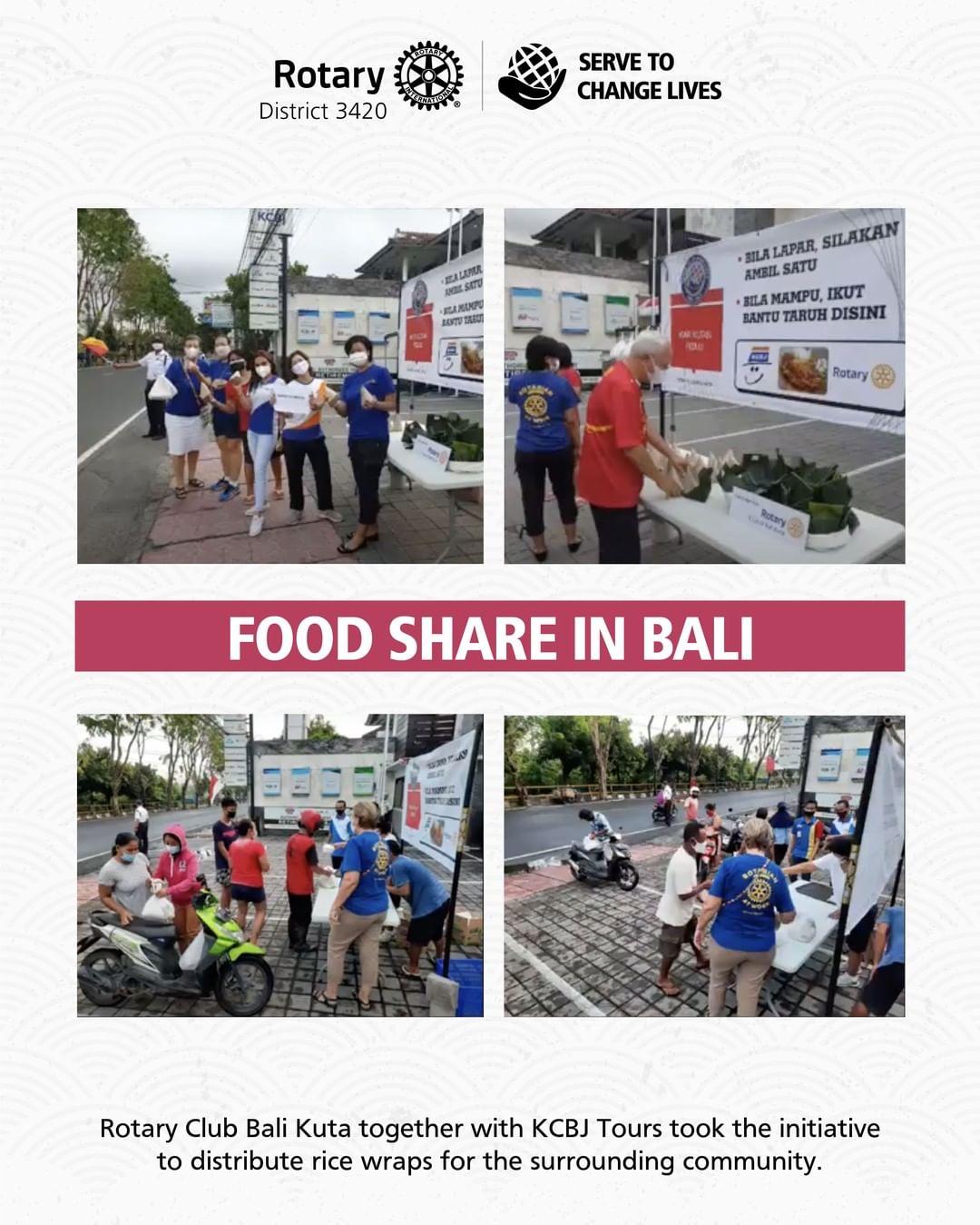 Food Share in Bali