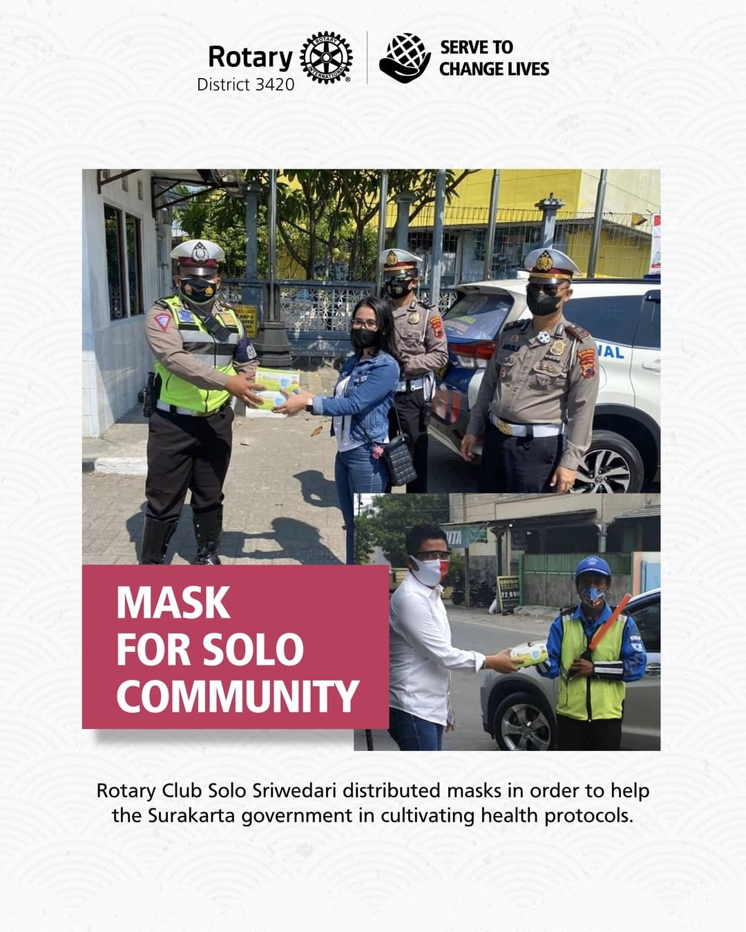 Mask for Solo Community