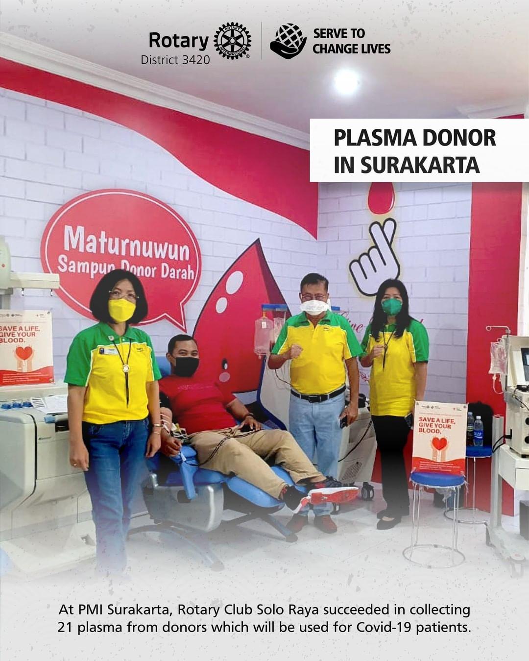 Plasma Donor in Surakarta