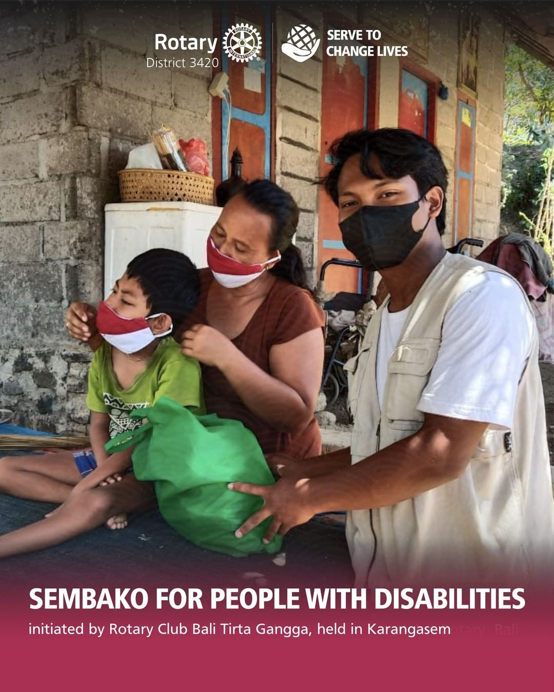 Sembako for People with Disabilities
