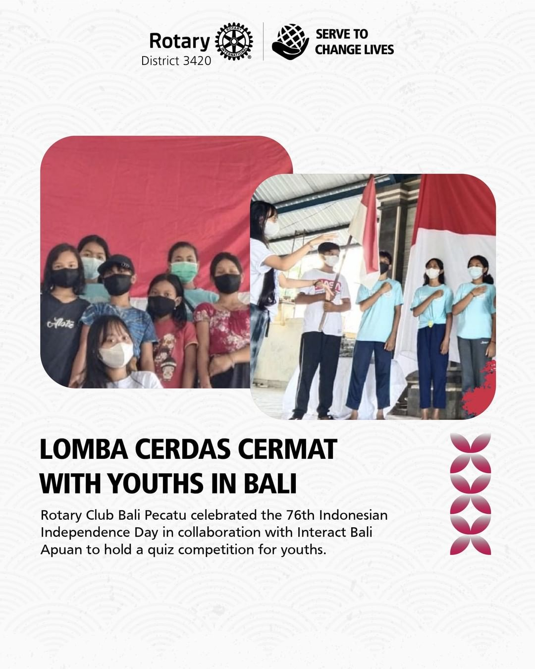 Lomba Cerdas Cermat with Youths in Bali
