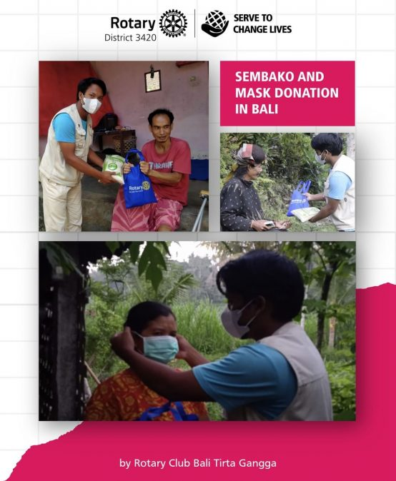 Sembako and Mask Donation in Bali