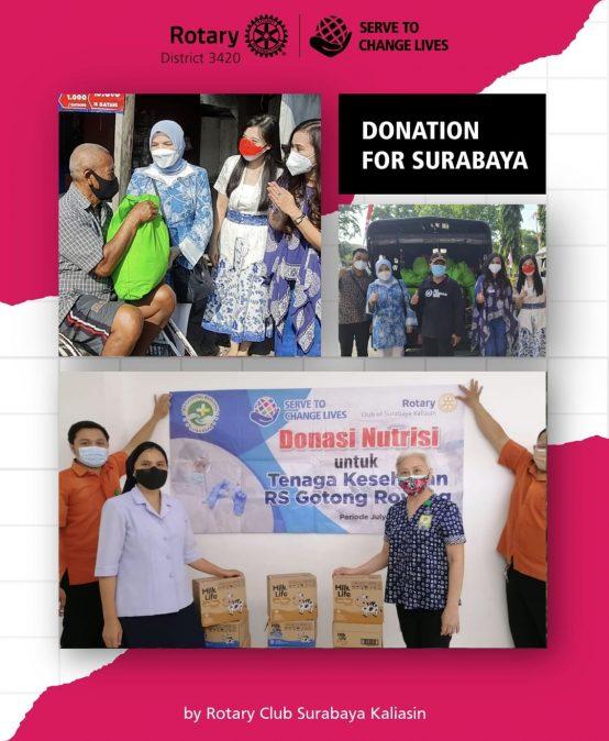 Donation for Surabaya