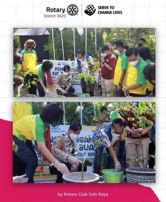 Kick Started Kampoeng Buah Solo Raya with Mayor of Surakarta