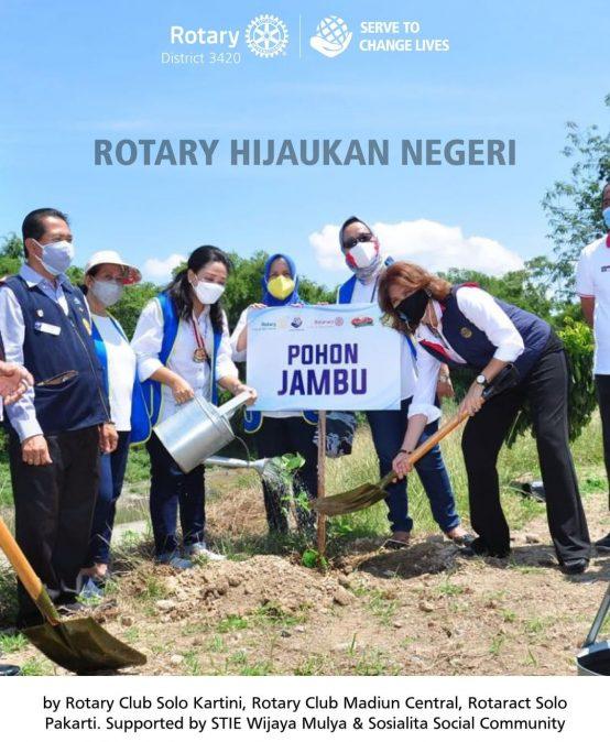 Rotary Hijaukan Negeri