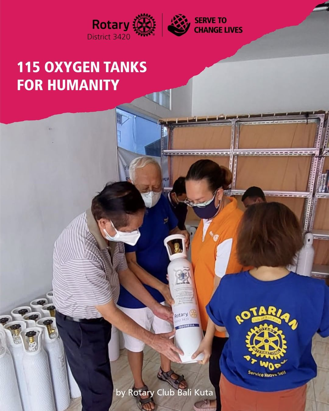 115 Oxygen Thanks for Humanity