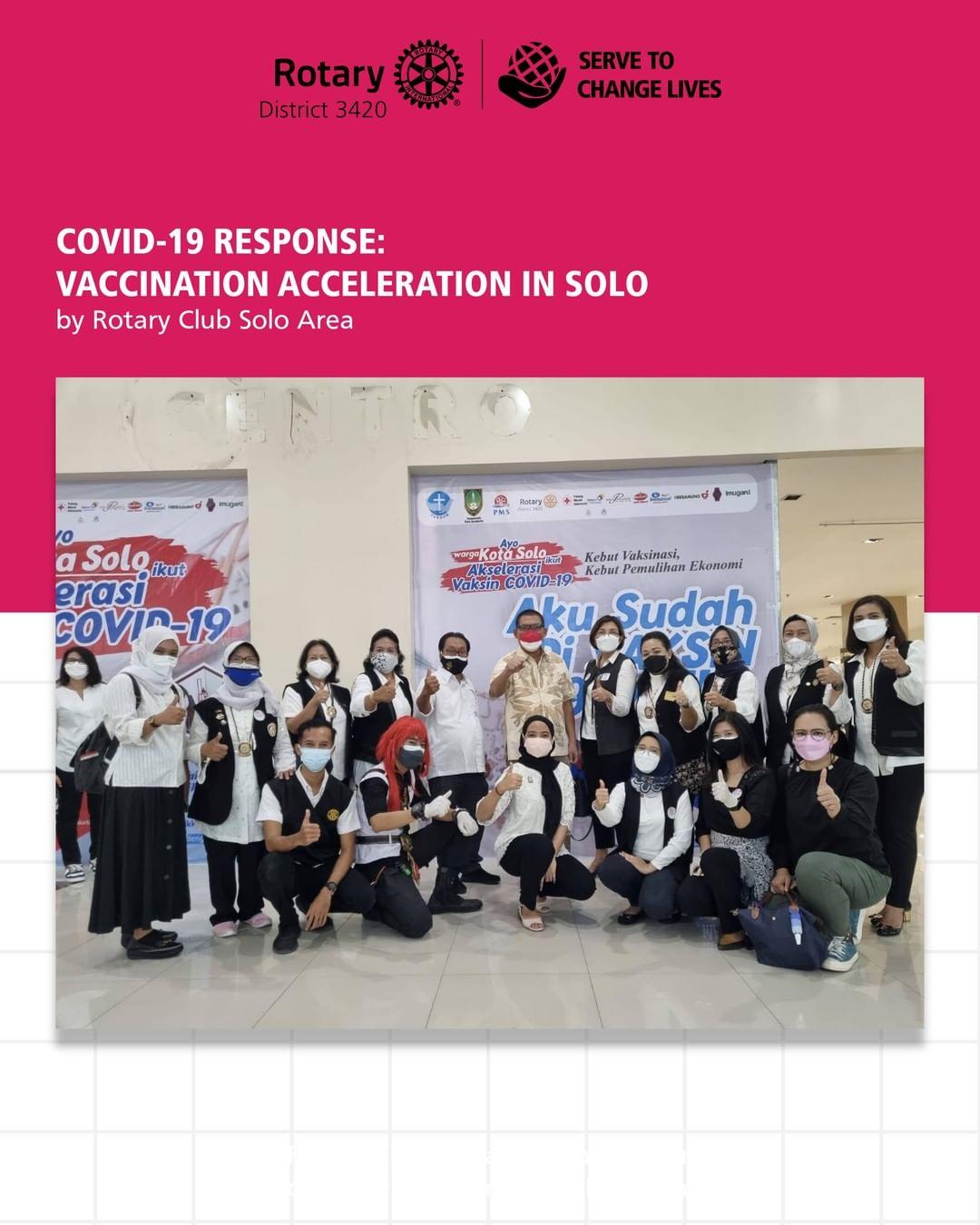 Covid -19 Response : Vaccination Acceleration in Solo