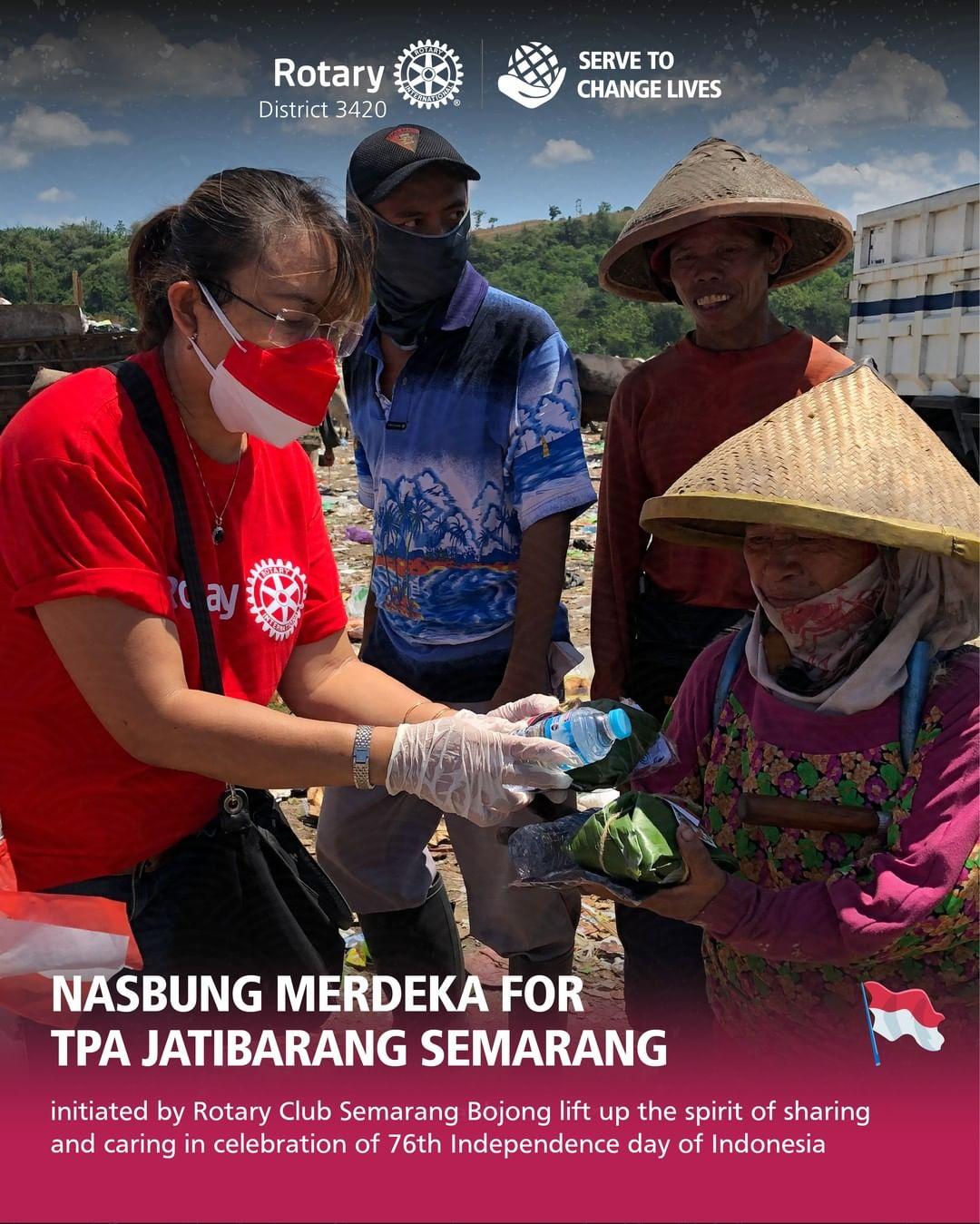 Nasbung Merdeka for TPA Jatibarang Semarang