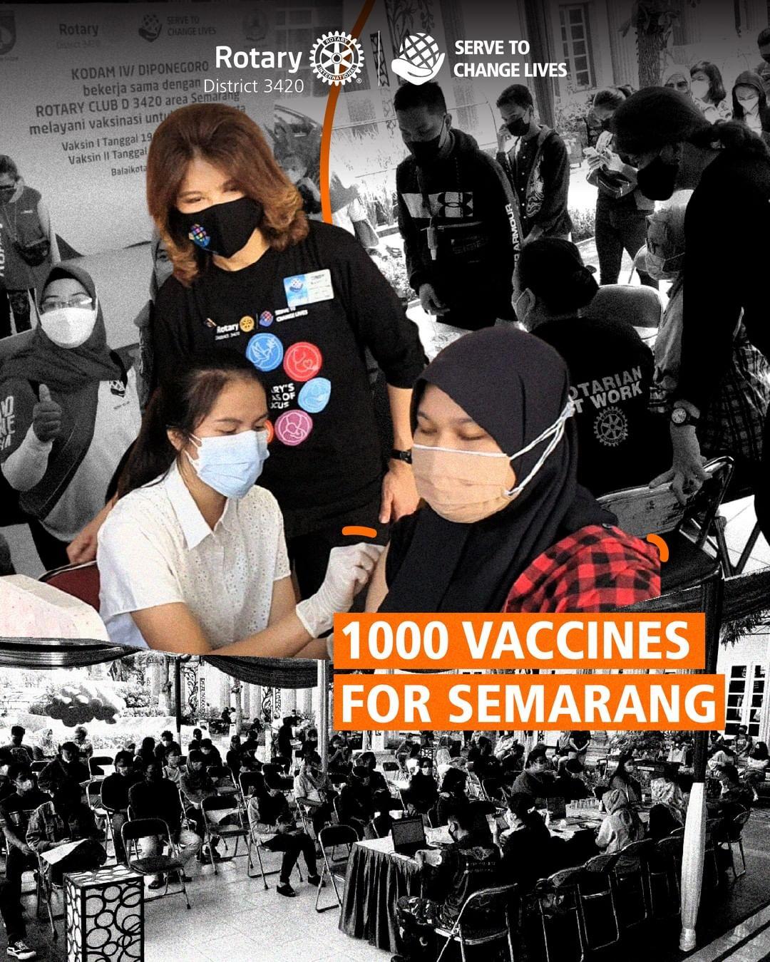 1000 Vaccines for Semarang